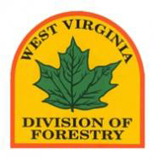 The West Virigina Forestry logo
