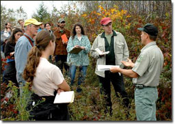 Forestry class - photo ~ Rob Hoelscher, USFS